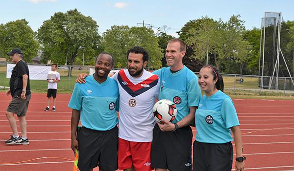 2016 Robbie Celebrity Soccer Game