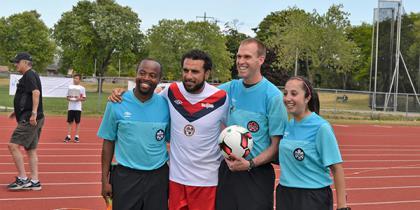 2016 Robbie Celebrity Soccer Game