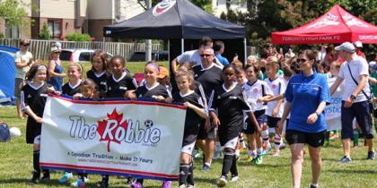 Robbie Festival Parade