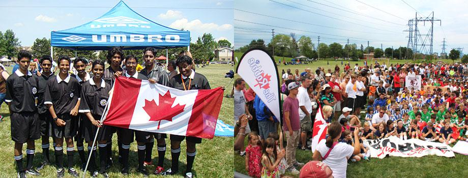 Scarborough Soccer Referee's Association proudly supports the Robbie Tournament.
