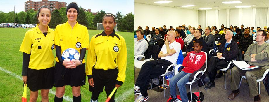 The SSRA is dedicated to producing the best referees through comphensive and professional training and education