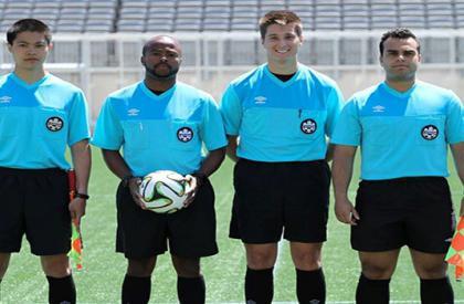 Alexander, Kuizan, Joe Filipie and Ramee League one match 23/04/2015